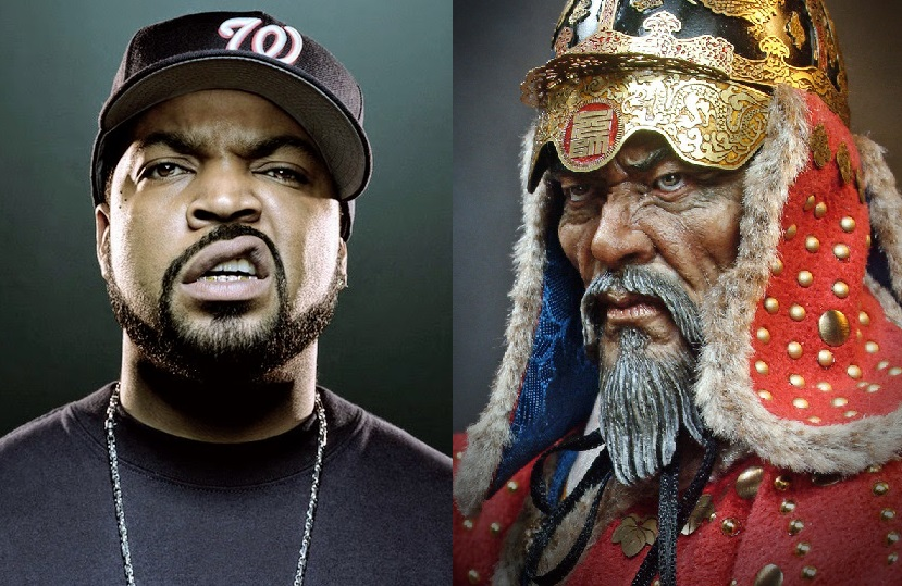 Ice Cube and Admiral Yi Sun-Sin