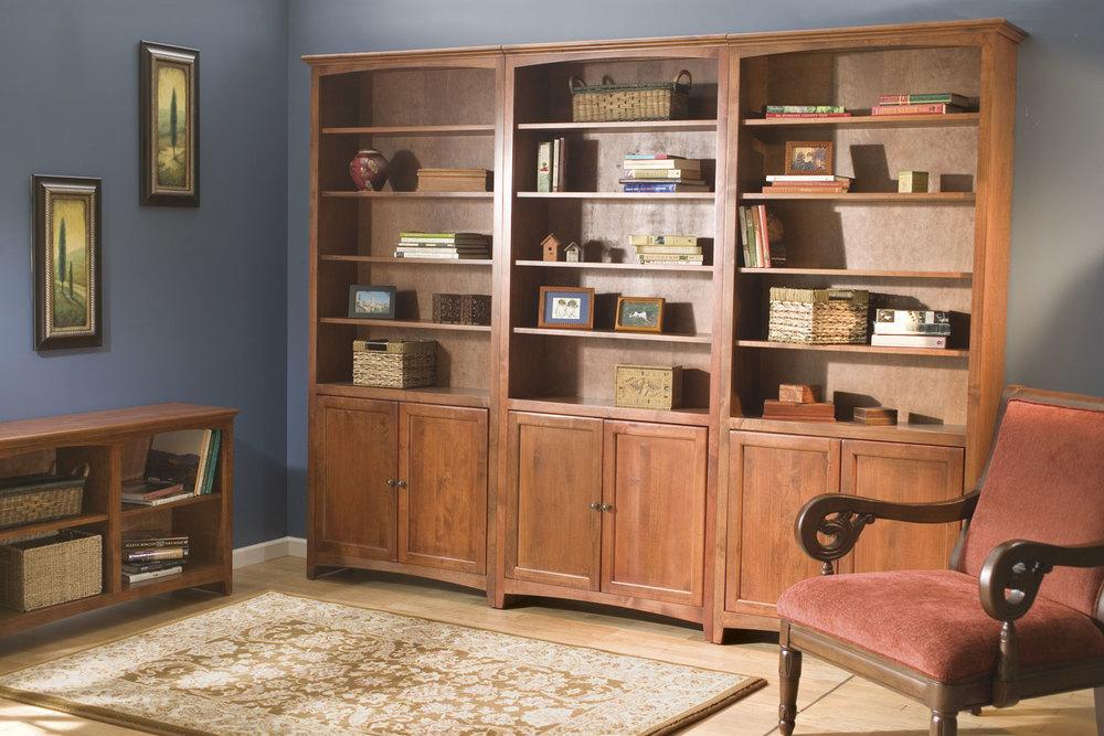 Whittier Wood McKenzie Bookcases. Entertainment   Sonoma Furniture Store