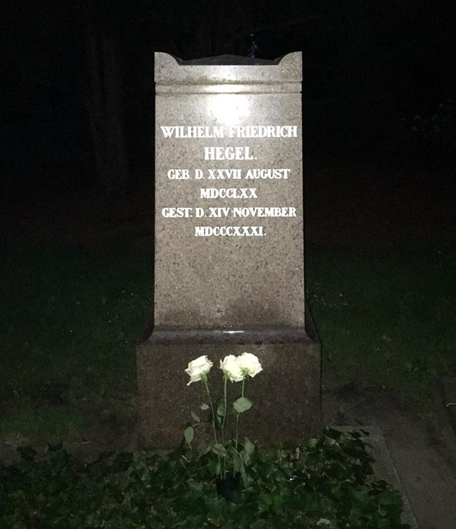 just reminded about the time i discovered hegel in the darkness (2016) — berlin, de
