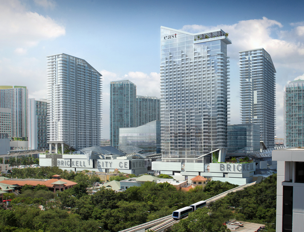 Brickell City Centre  is an exhilarating $1.05 billion paid-out-of-pocked mixed use development pioneered by Hong Kong based Swire Properties. (太古集团) Strategically located in the center of the Brickell financial district, this is the single largest project underway in Brickell, Miami.
