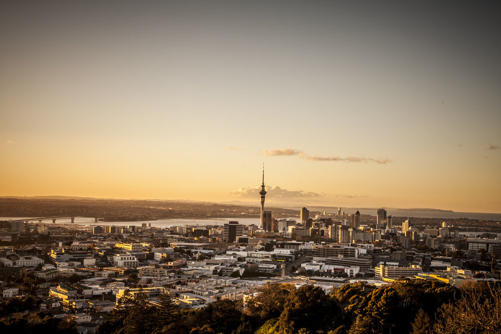 auckland, new zealand - jan 2018