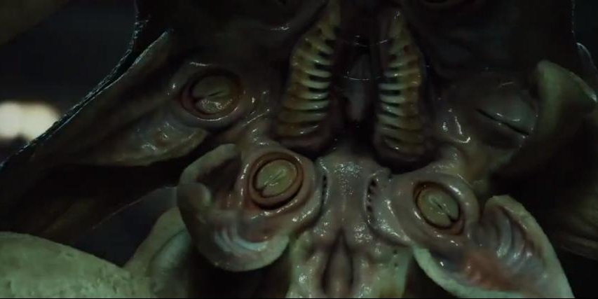 The Trilobite shares some similarities with an Elder Thing - once you leave out the vagina dentata.
