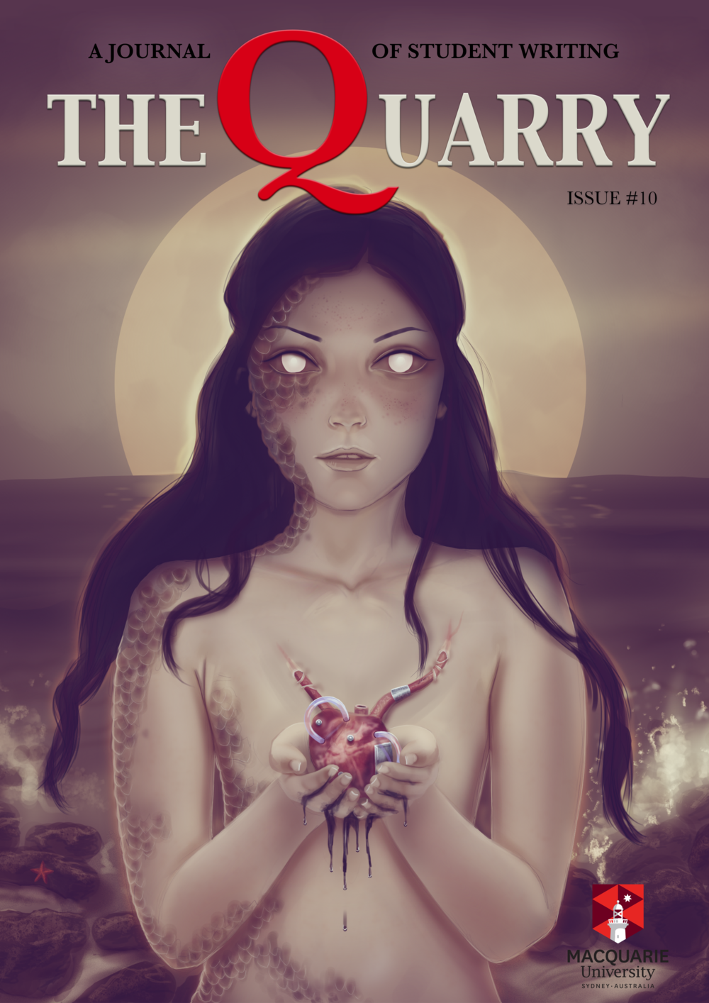 Cover art by Ailie MacKenzie, design by Teresa Peni