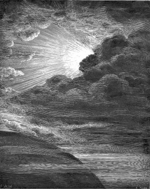"""The Creation of Light"", Gustave Doré [Public domain], via Wikimedia Commons"