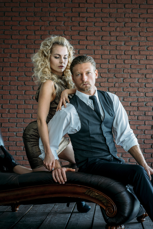 Models: Nathalie Fust&Devin Bair