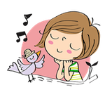 Now you can download MerryDay LINE sticker! Search for 'MerryDay' or go to    http://line.me/S/sticker/1029081