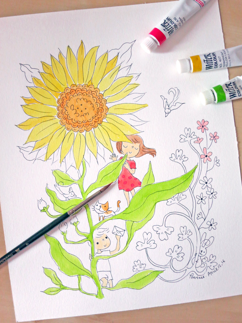 - Merry coloring workshop