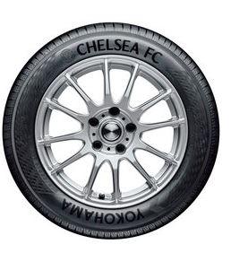 Limitierte Auflage des YOKOHAMA-Chelsea FC-BluEarth-A AE-50 Umweltreifen