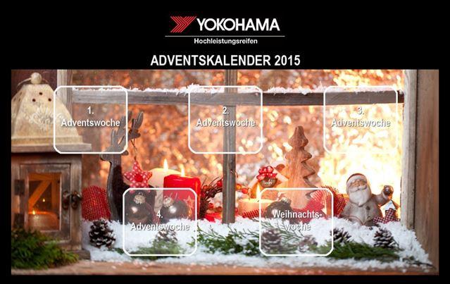 #YOKOHAMAreifen, www.yokohama-shop.de, #Weihnachten, #YokohamaAdventskalender