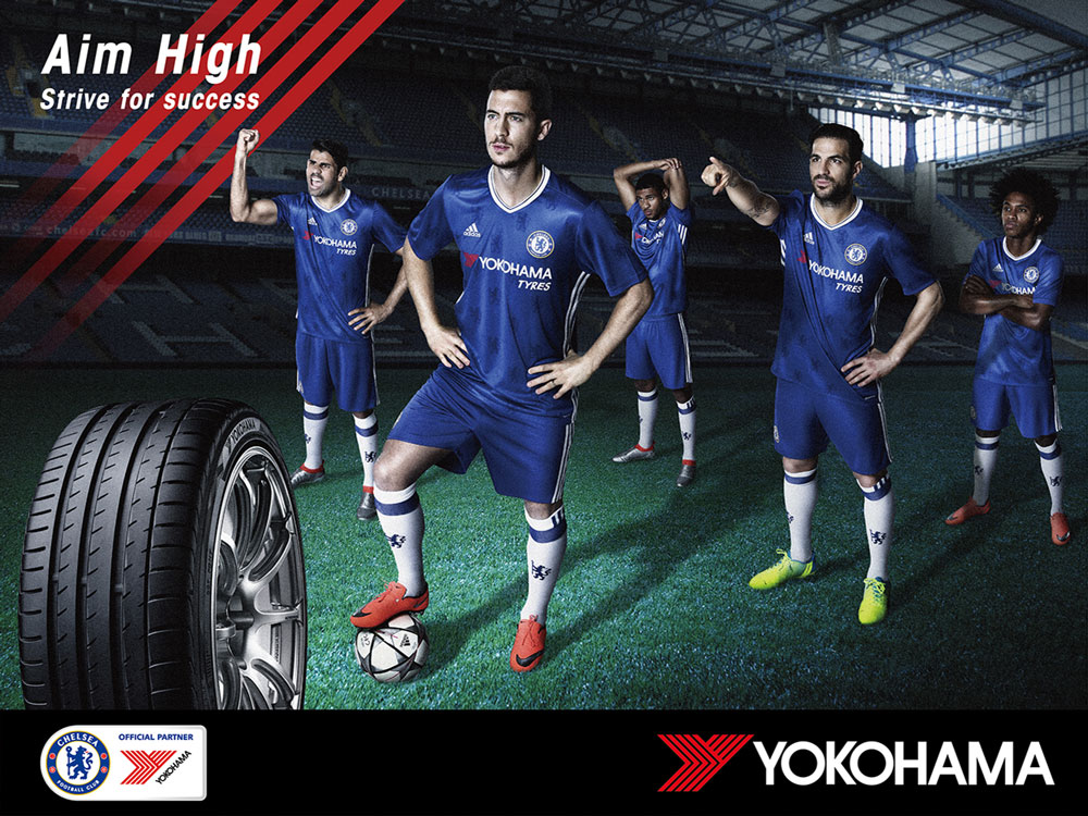 #ChelseaFC #Chelsea #Shirt #YOKOHAMA #ADVANsport