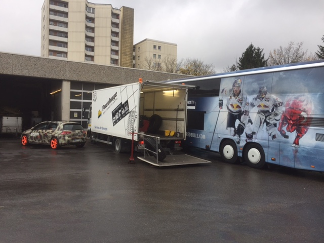 Mobiler LKW/Bus-Umbereifungsservice unseres Pneuhage Partners in München