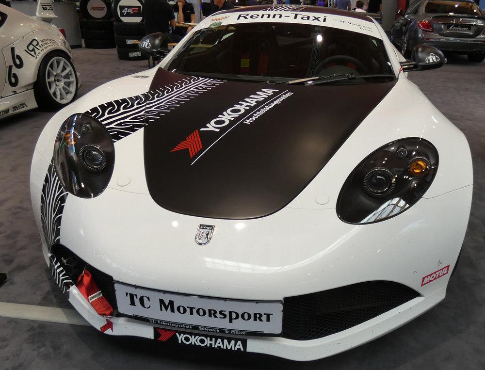 TC Fahrzeugtechnik Artega auf YOKOHAMA Advan Neova AD08R