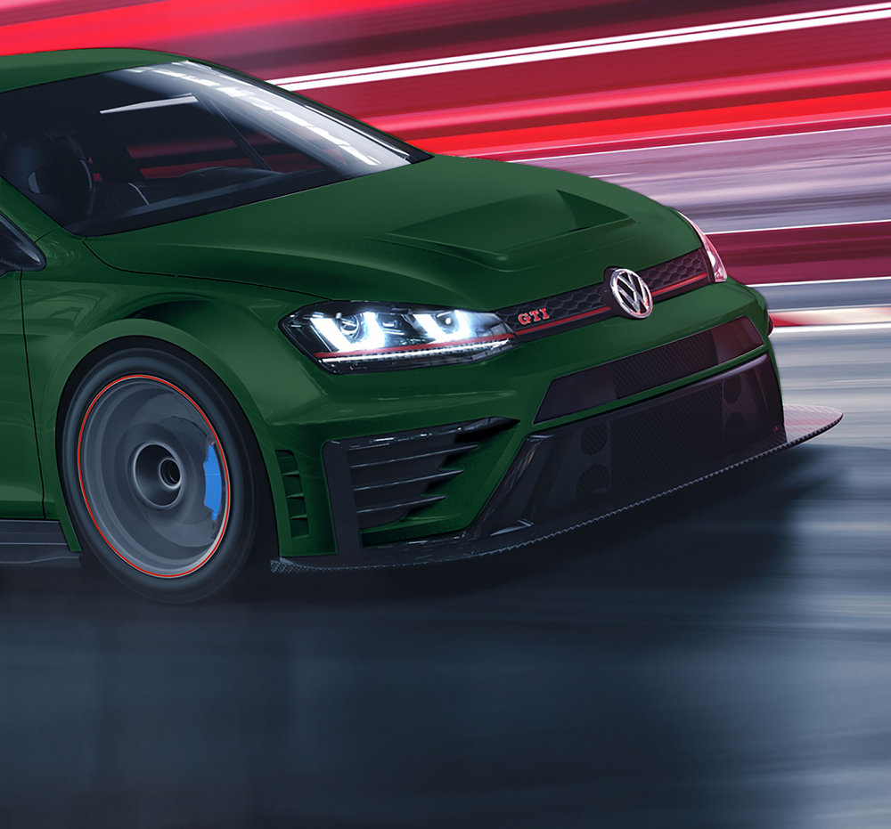 VW Golf GTI TCR auf YOKOHAMA ADVAN NEOVA AD08R tuned by Peter Muggiano