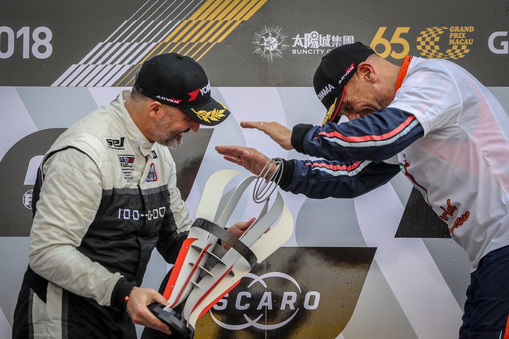 Yvan Muller Tranquini Gabriele WTCR YOKOHAMA 2019 winner Macau