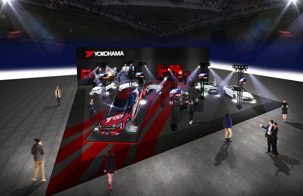 Tokyo Autosalon 2019 - YOKOHAMA Stand