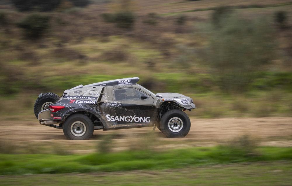 YOKOHAMA Geolandar M/T G033 auf Ssang Yong bei Rallye Dakar Peru 2019