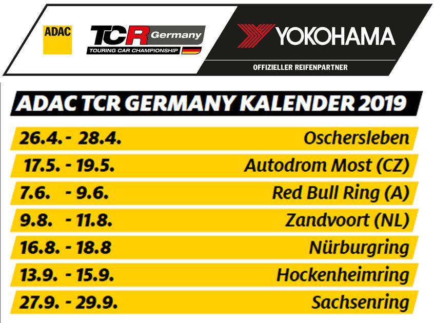 YOKOHAMA präsentiert ADAC TCR GERMANY