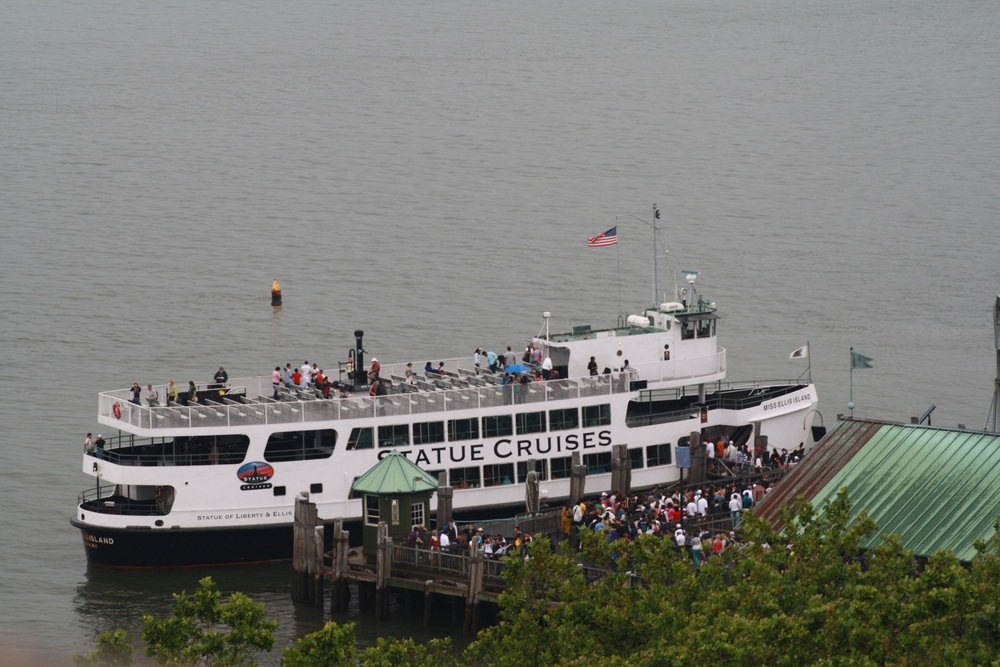 Ferry to Statue of Liberty.JPG