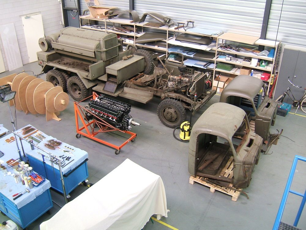 large objects restoration facility