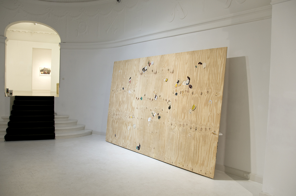 2012 'Persausion in Douglas Fir' Paper and Wood 366 x 234 x 30 cm 1500px w highest qual prog.jpg
