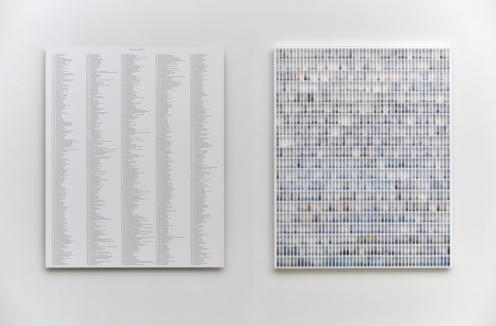 2015 'A Thousand German Skies'. Archival Print on Aluminium, Glass, Plastic, Print Dust. 174cm by 95.5cm 1500px w.jpg