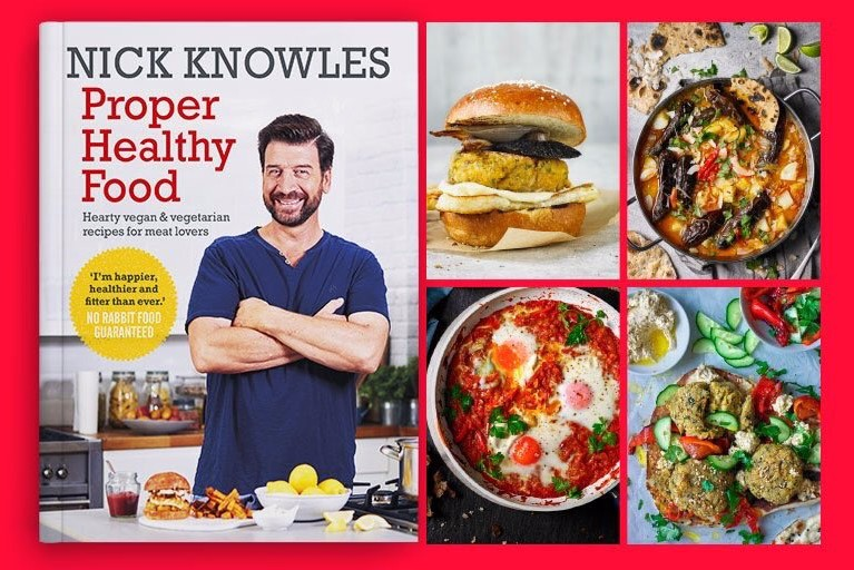 Being Plant Based -                       An Interview With Nick Knowles