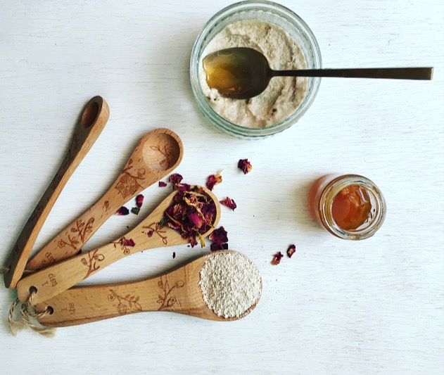 Oat mask ingredients