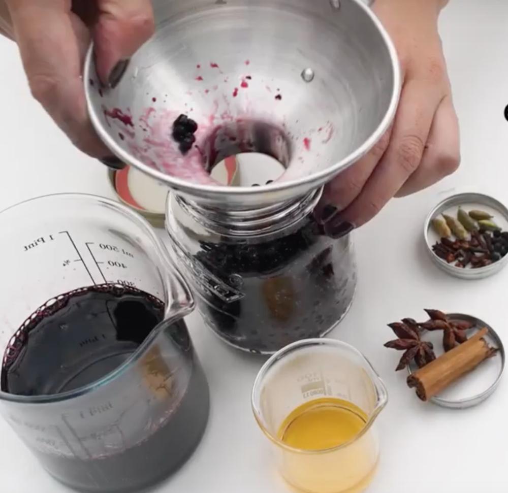 WATCH // Foraging for elderberries