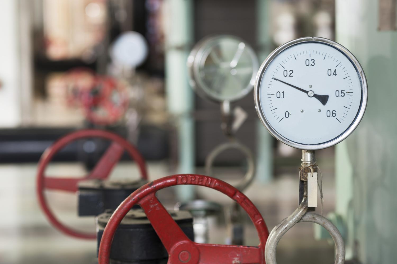 iStock_gauge pressure close high res valves plant.jpg. Black Seal