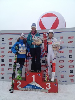 On the podium again for Heather! 2012 Bronze Medal at Lackenhof, Austria.