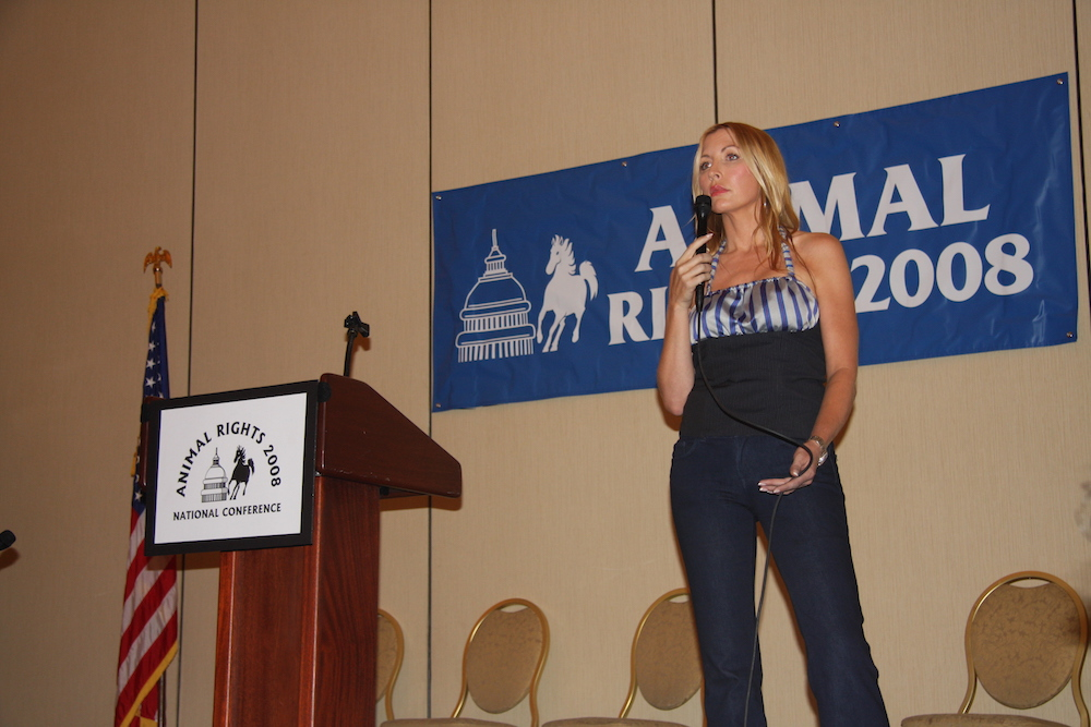 Heather Mills, 2008 Animal Activist of the Year