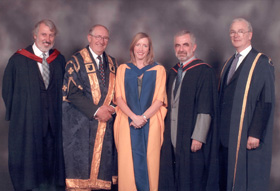 2003 Open University Sesame Honorary Graduate,  2004 Open University Doctorate