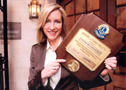 2003 Melvin Jones Fellow Lion Award, Heather Mills