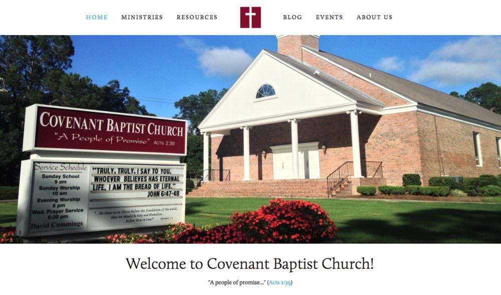 Covenant Baptist Church  of Valdosta, GA
