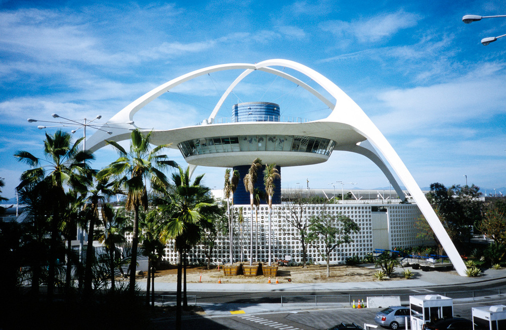 LAX - Provia 100F accidentally pushed to 400 ISO
