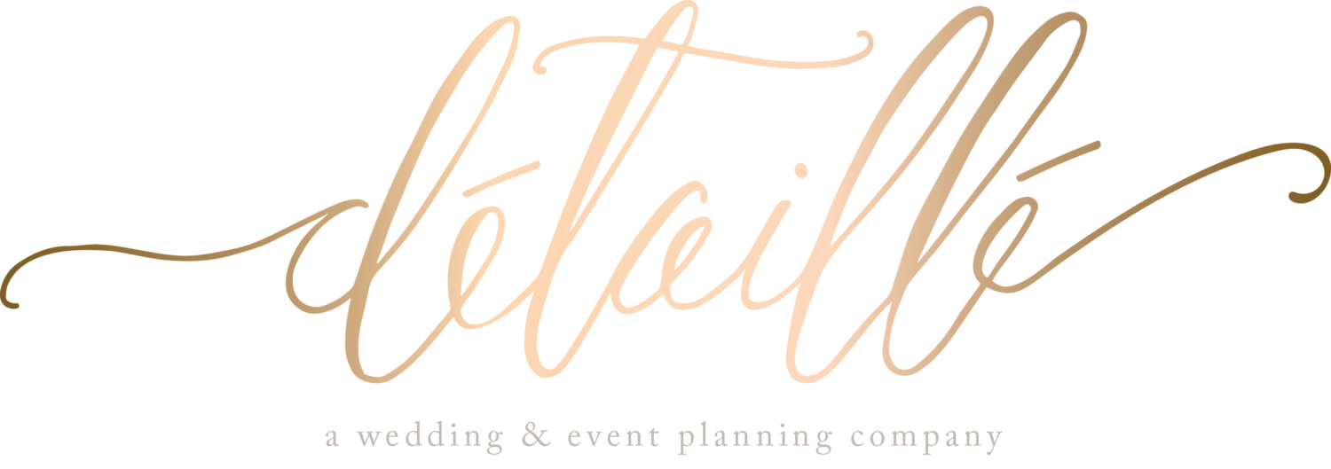 Detaille | A wedding & event planning company | CT, MA, NY, NYC, RI | Planner, Designer, Coordinator, Stylist