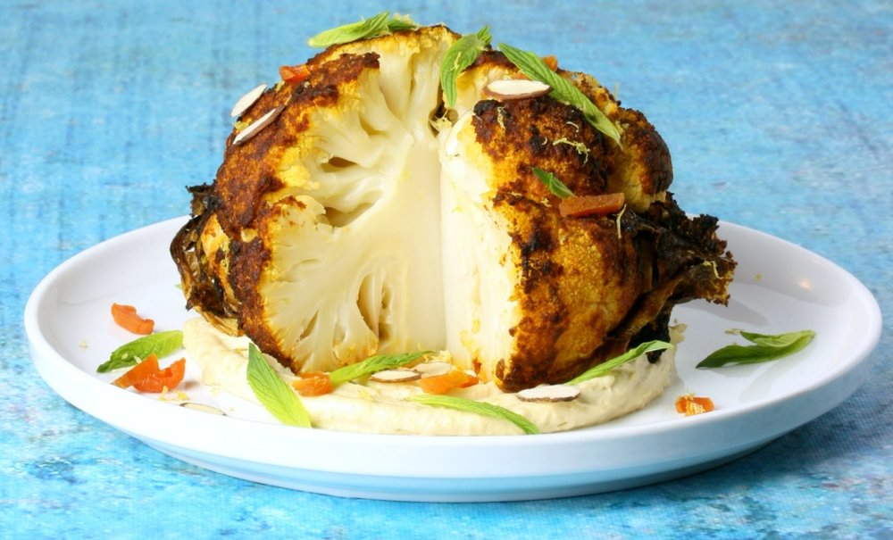 Combi Steam Oven Recipe: Whole Roasted Cauliflower