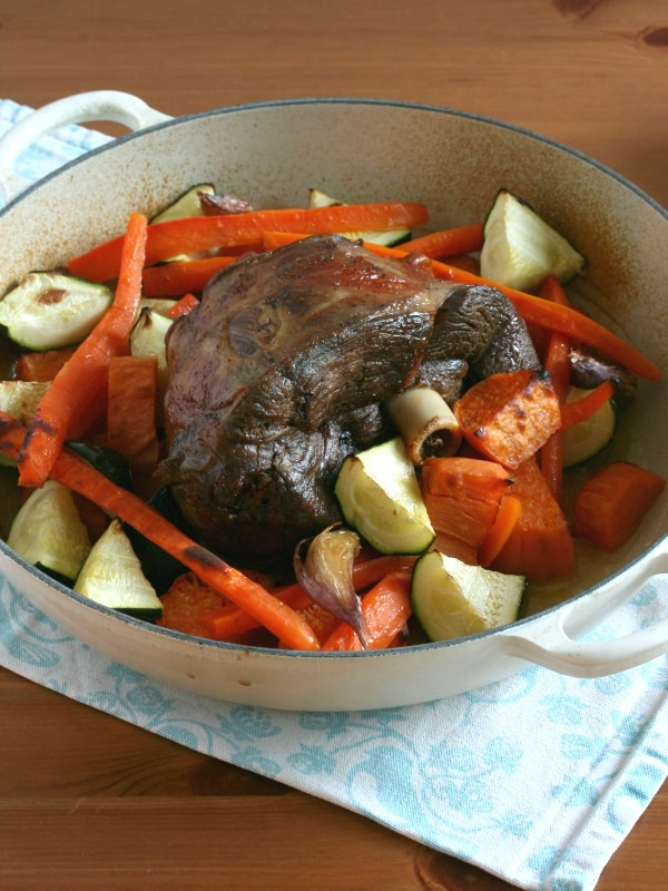 Combi Steam Oven Roast Lamb