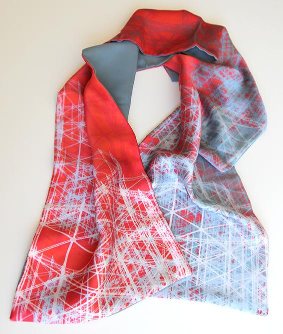 gasholder scarf red lightblue Jo angell.jpg