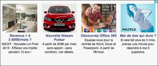 Native Advertising sur lesechos.fr ... :-(
