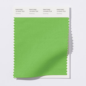 Pantone Colour of the Year 2017: Greenery 15-0343 via www.pantone.com