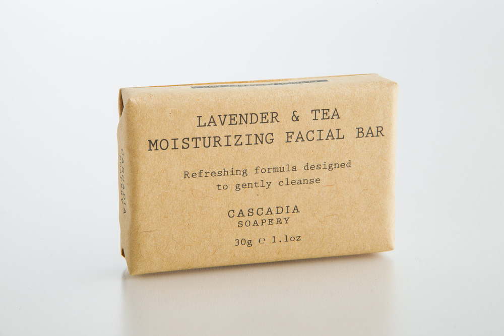 Lavender & Tea Moisturizing Facial Bar