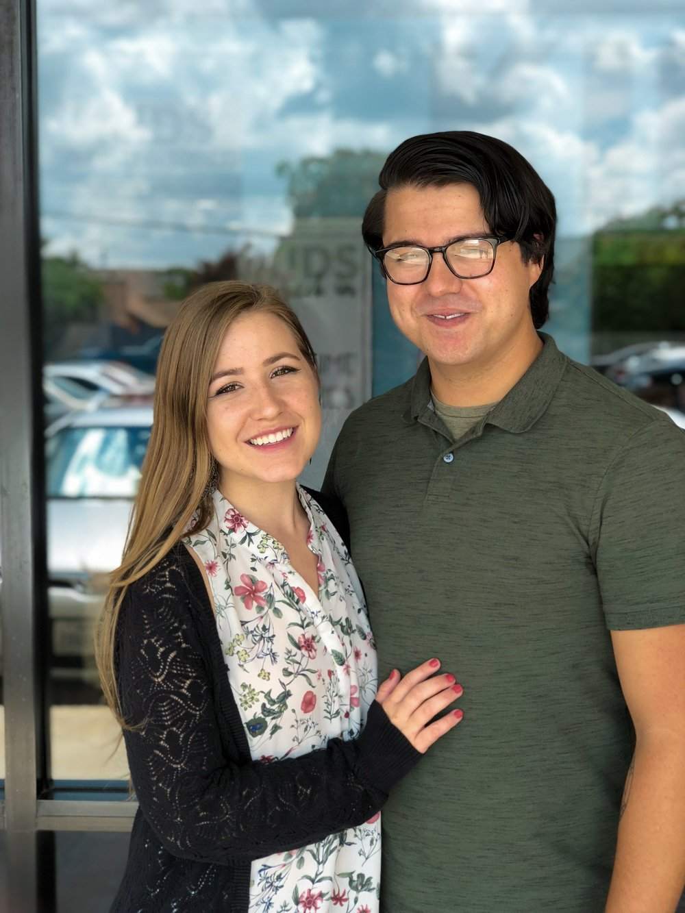 Christine & Caleb Flores - Christine & Caleb are amazing leaders in Reach Youth. Caleb is one of our outstanding worship leaders. Christine also serves on the worship team and is a powerful speaker.