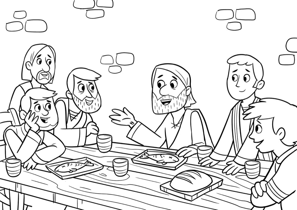 Jesus and his Small Group (disciples)