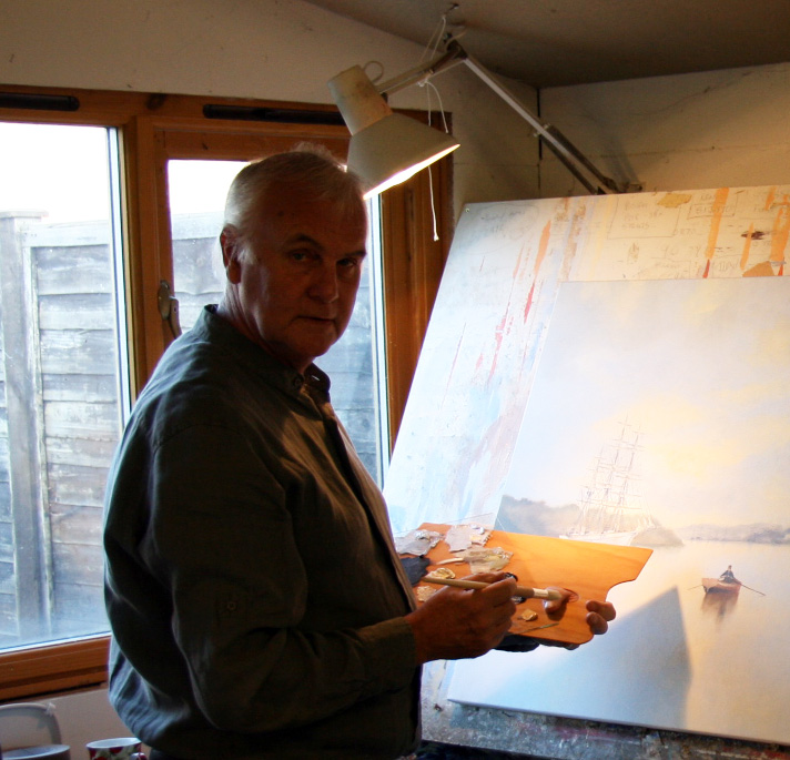 Artist Ken Hammond