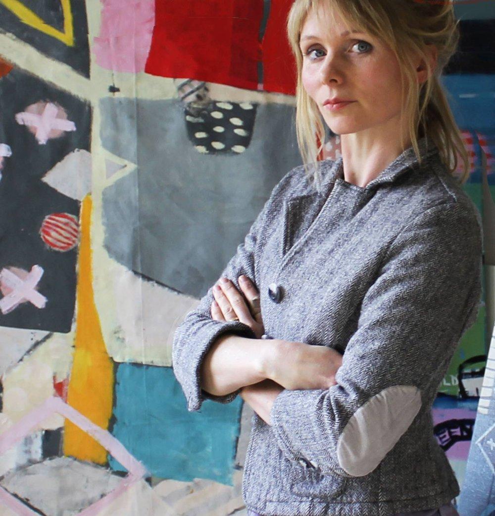 Anna Hymas Artist profile shot