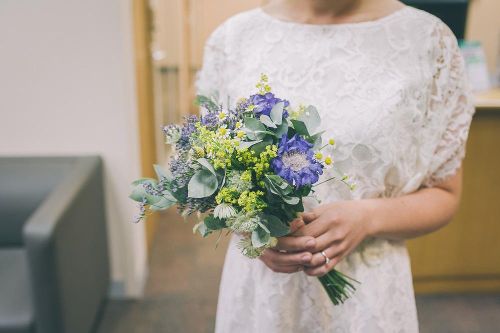 Bridal bouquet London