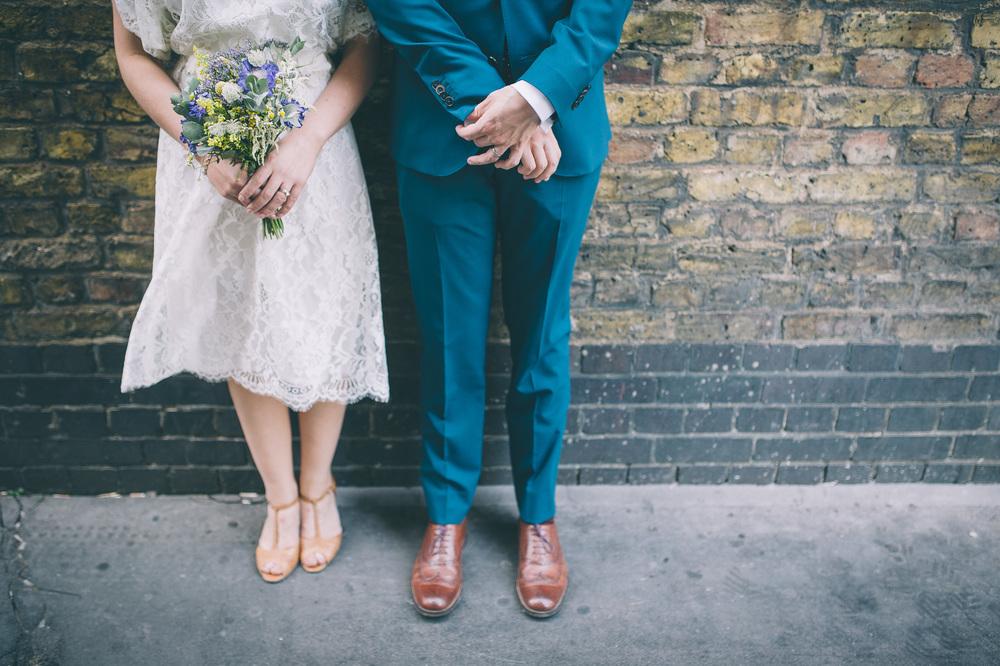 Cool London wedding photography