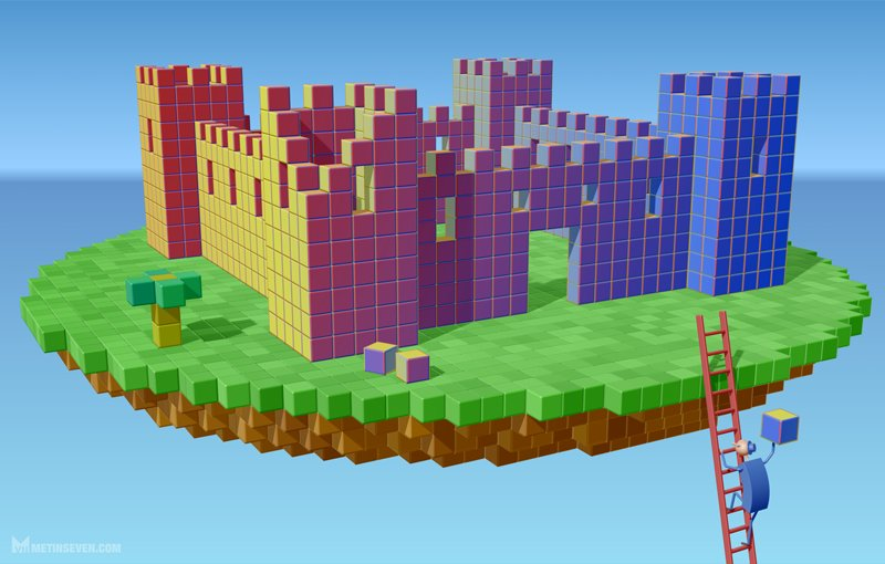 metin-seven-metin-seven-3d-pixel-art-voxel-blocks-building-air-castle.jpg