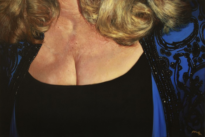 Dana/Polyester, oil on canvas, 20 x 30 in.